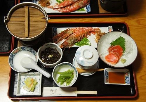 20180623-a 奥入瀬グリーンホテルの夕食