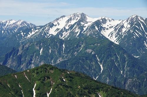 09b 八方尾根より立山