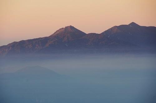 12 唐松岳より焼山、火打山