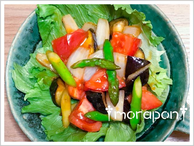 180719 麻婆夏野菜