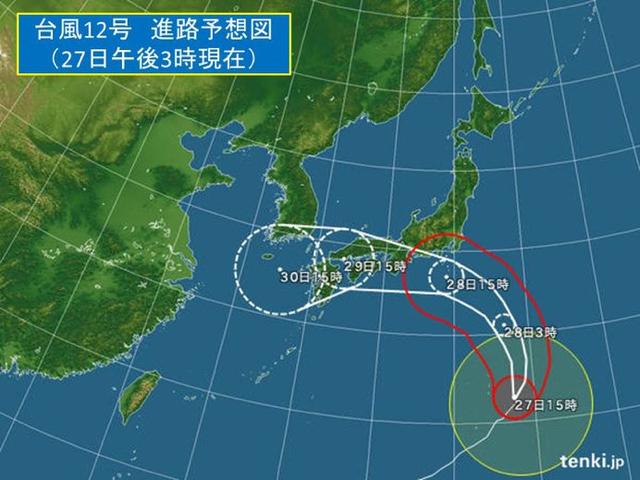 180727 台風12号-1