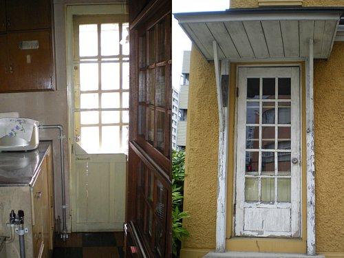 旧宣教師館・玄関