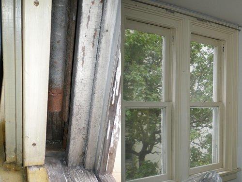 旧宣教師館・窓