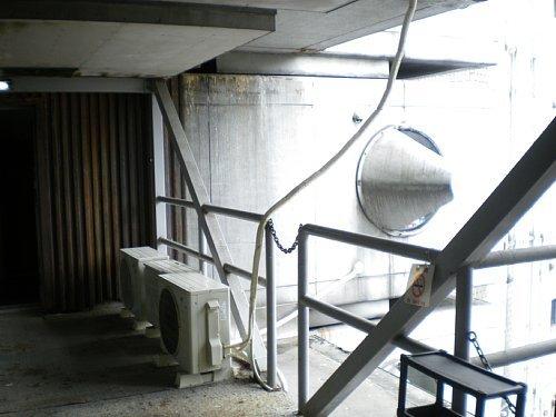 中銀カプセルタワービル・ブリッジ