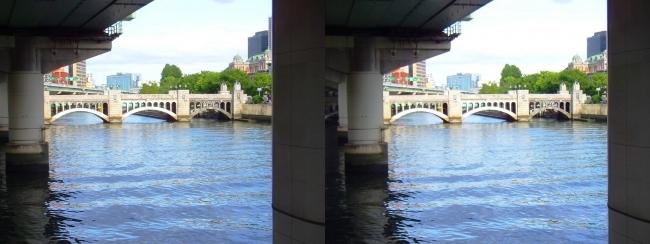 淀屋橋からの眺め①(平行法)