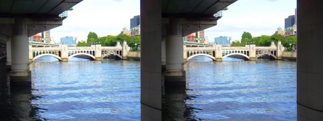 淀屋橋からの眺め①(交差法)