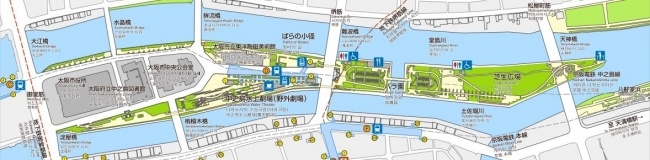中之島公園MAP