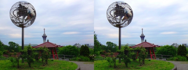 花博記念公園鶴見緑地 国際庭園 国連(平行法)