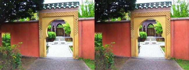 花博記念公園鶴見緑地 国際庭園 モロッコ(交差法)