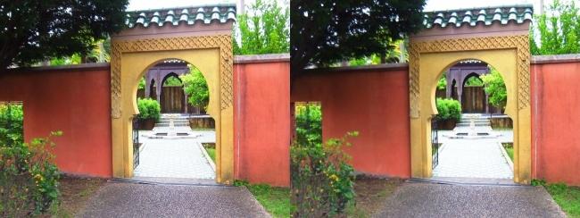 花博記念公園鶴見緑地 国際庭園 モロッコ(平行法)