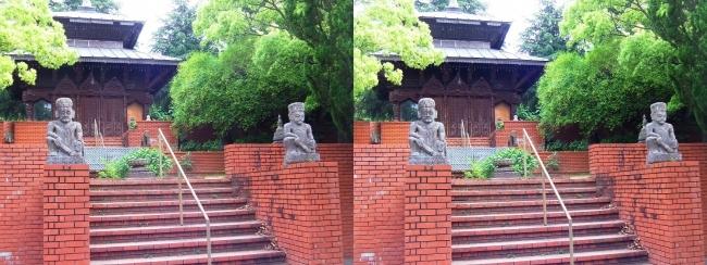 花博記念公園鶴見緑地 国際庭園 ネパール王国(平行法)