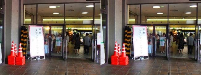 京都アンティークフェア①(平行法)