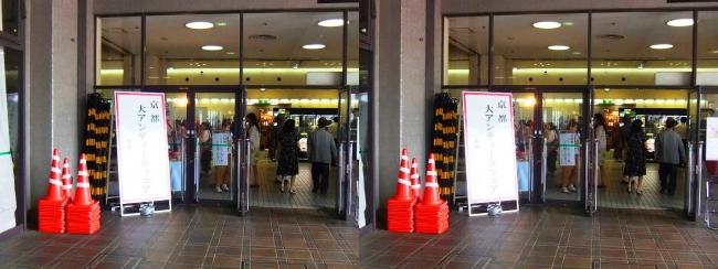 京都アンティークフェア①(交差法)