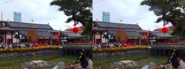 四天王寺 聖霊会舞楽大法要会⑧(交差法)