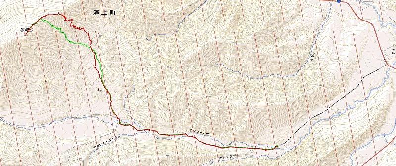 渚滑岳log