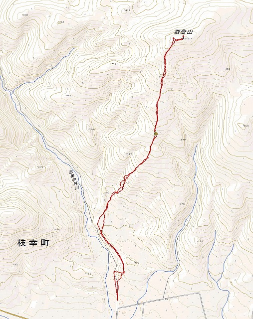 歌登山log
