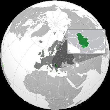 01e 400 Serbia map