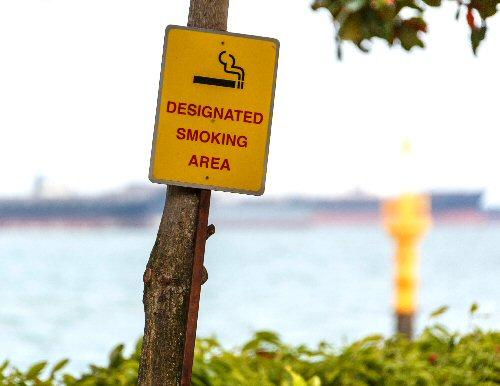 09c 500 Designated Smoking Area