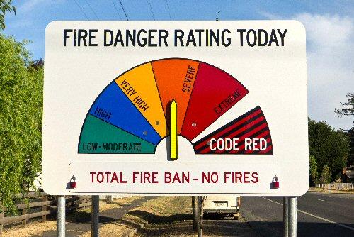 09b 500 Fire Danger Rating