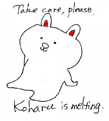 01a 500 Koharu is melting