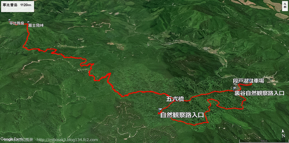 20180602寧比曽岳ルート