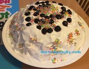 新年おめでとうケーキ