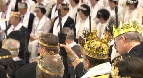 サンクチュアリ教会の銃の携帯