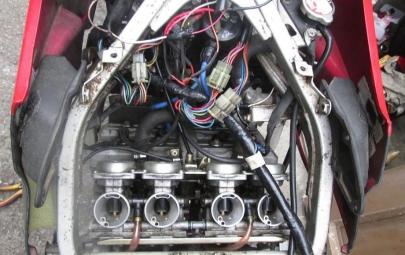 メインハーネスWire Harness交換YAMAHAヤマハFZR250(2KR)FZ250(1HX)合体フェーザー修理パーツリストparts list配線図wiring diagramサービスマニュアルservice manual電装ショート劣化破損イグニッションコイルgnition coilプラグコード spark plug cordレギュレーターregulatorレクチファイアRectifi