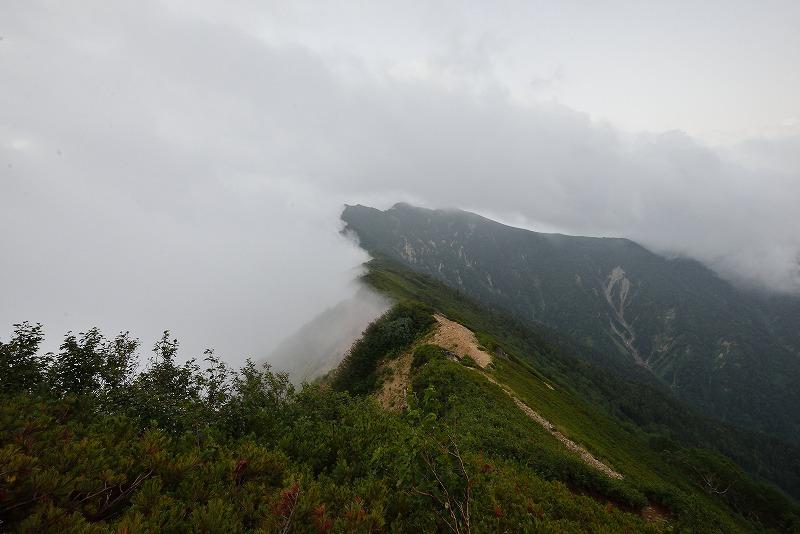 180807鹿島槍ヶ岳 (2)