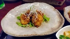 熊本市北区清水新地の中華厨屯知でエビマヨ&麻婆豆腐ランチ♪