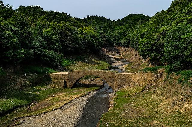 ダムに沈んだ田代橋
