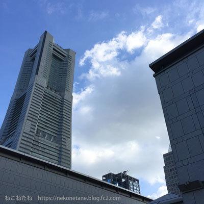 横浜美術館ランドマークタワー写真