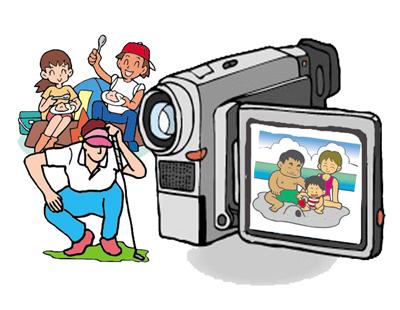 ビデオカメラと人物のコピー ブログ