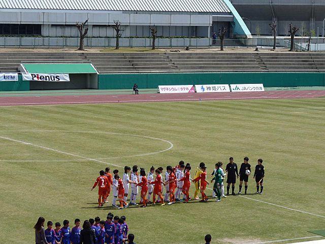なでしこリーグカップ2部 愛媛FCレディース戦