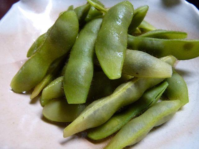 早生の黒豆枝豆