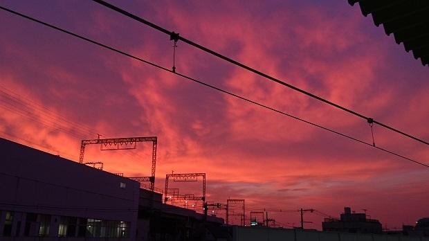 DSC_2279夏夕焼け