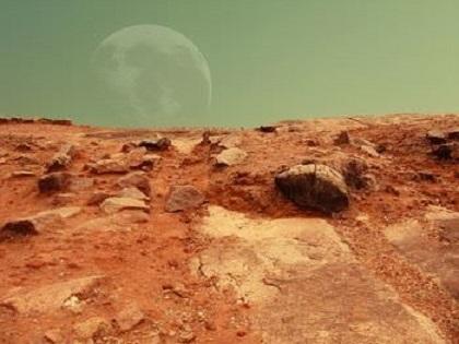 火星 地形