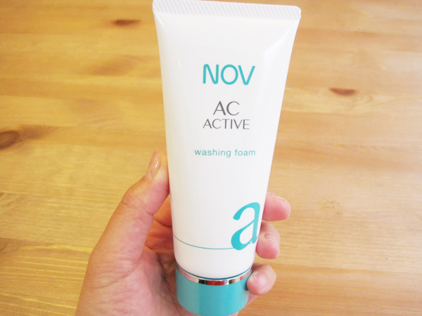 NOV(ノブ)ACアクティブの洗顔料
