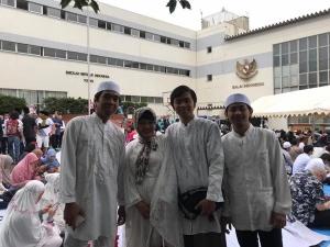 イドゥル・フィットリー_インドネシア大使館でのパーティーの模様1