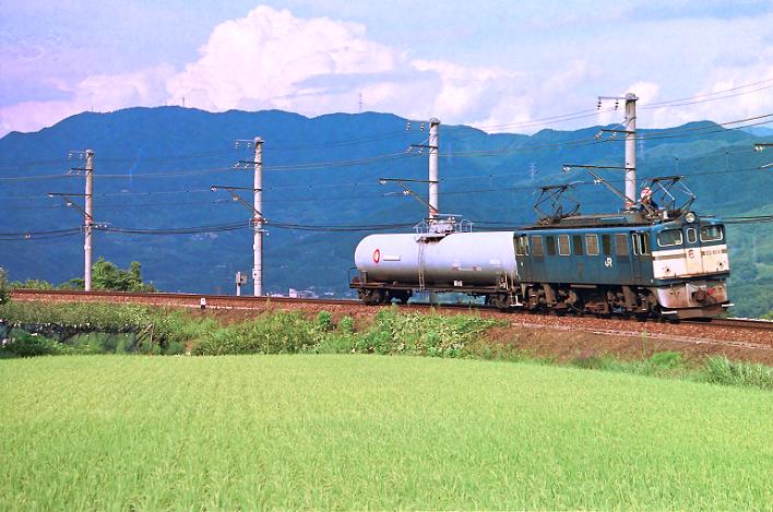 1995.08-1.20 5280レ 上片桐~伊那大島