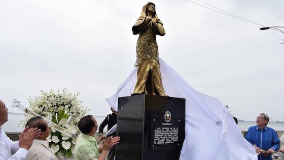 フィリピン 慰安婦像 中国 マニラ