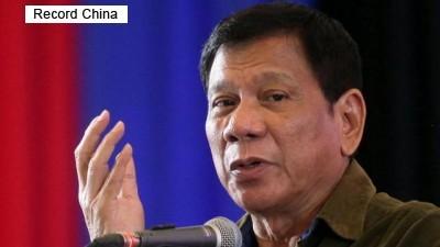 ドゥテルテ フィリピン 慰安婦像 中国 マニラ 遺憾の意