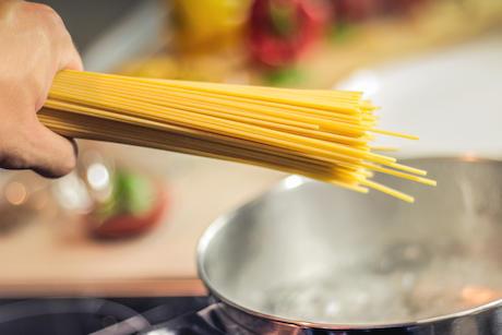 パスタ キャンプ ゆるキャン△ イタリア スパゲティー