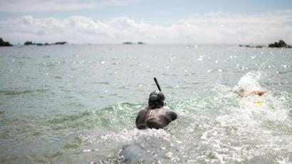 ベン・ルコント 太平洋 遠泳 銚子
