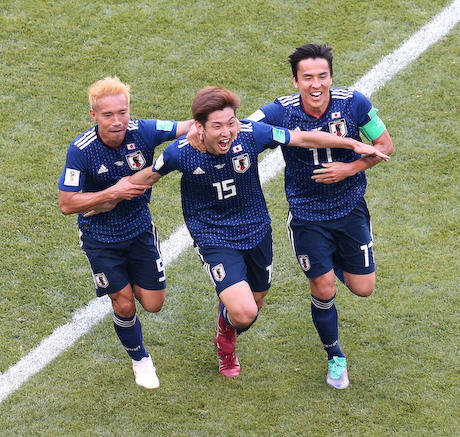 サッカー W杯 日本 コロンビア NHK 視聴率