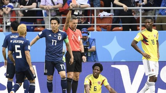 W杯 日本 コロンビア カルロス・サンチェス