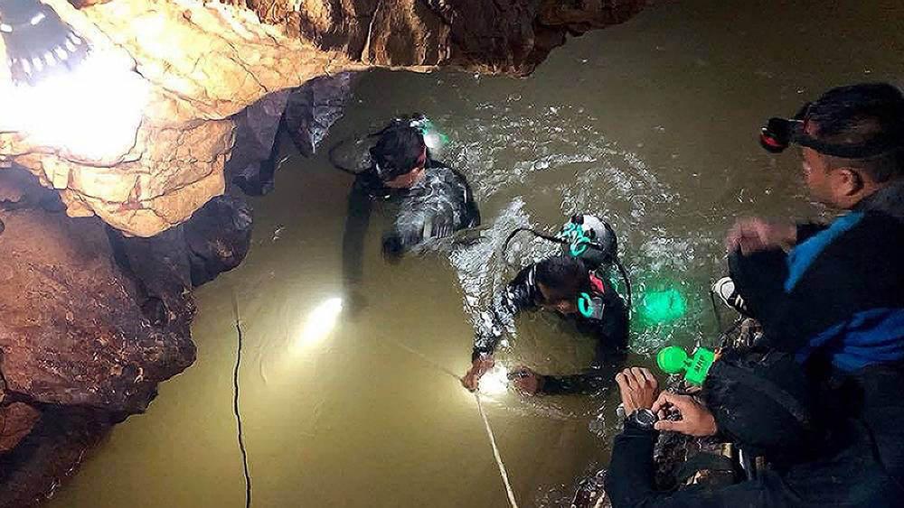 タイ 洞窟