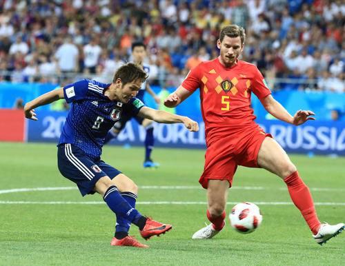 サッカー W杯 日本 ベルギー