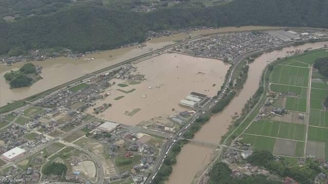 豪雨 水害 洪水 三角州