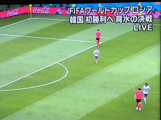 サッカー W杯 メキシコ 韓国 テレビ朝日